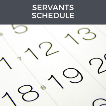 servants-schedule